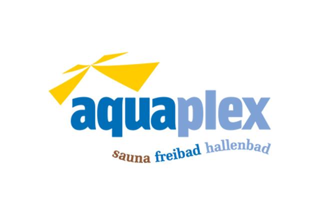 Logo Aquaplex – Sauna Freiband Hallenbad
