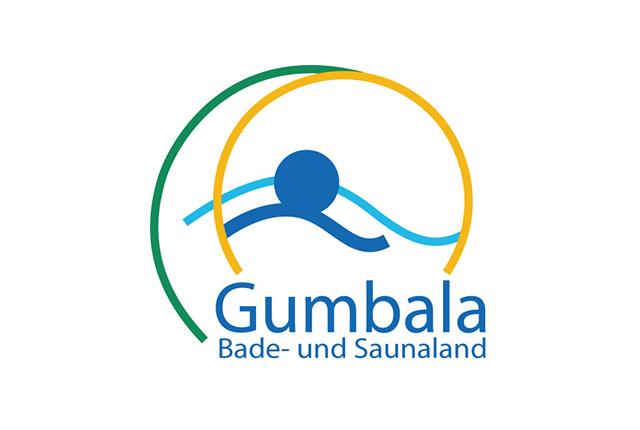 Logo Gumbala – Bade- und Saunaland