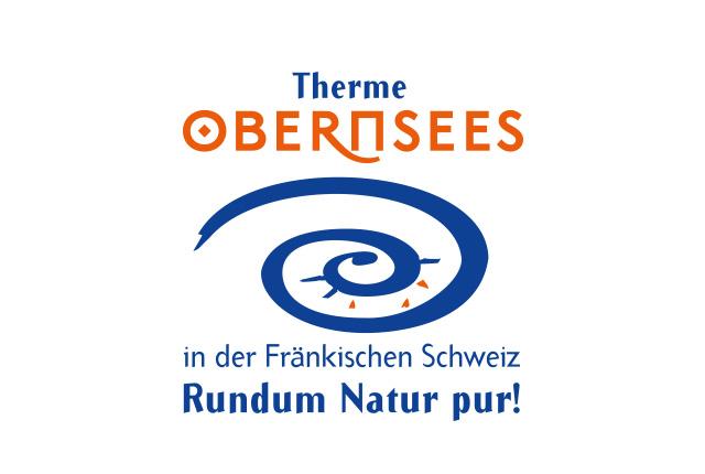 Logo Therme Obernsees – in der Fränkischen Schweiz